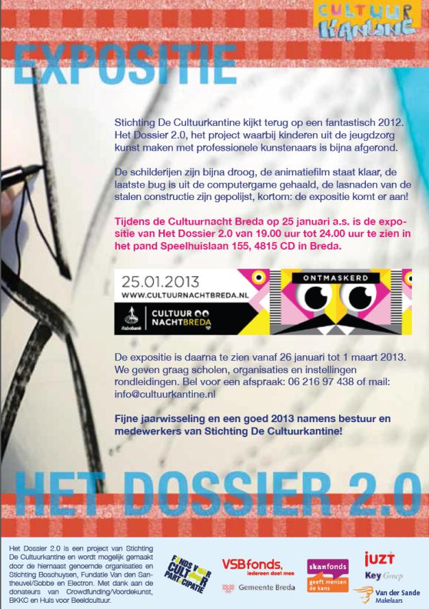 Dossier 2.0 uitnodiging